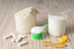 Protein, BCAA, Creatine, Omega 3
